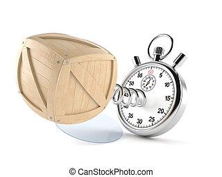 cronómetro, cajón