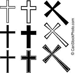 Cruce de vector cristiano