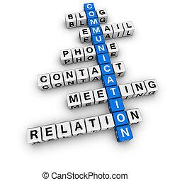 Crucigrama de comunicación