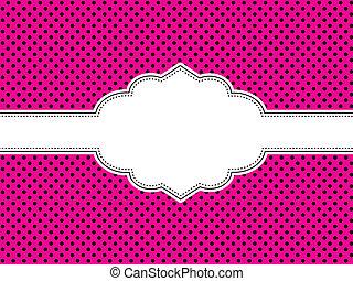 Cuartel rosa de lunares