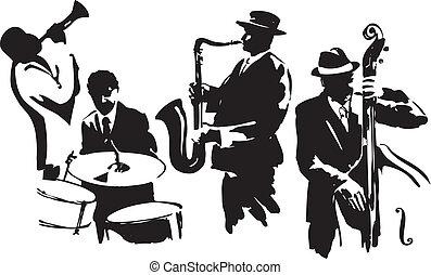 cuarteto, jazz