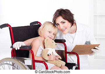 Cuidando a la enfermera y a la paciente