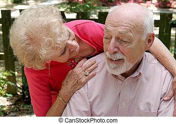 Cuidando a su marido