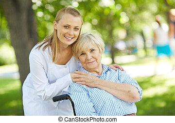 Cuidando al paciente