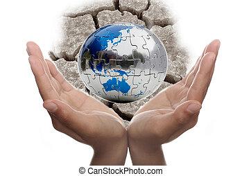 Cuidando la tierra
