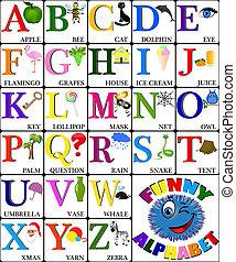 Curioso alfabeto con imágenes