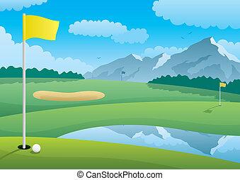 Curso de golf