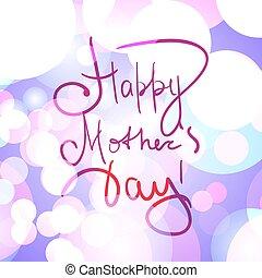 Día Madre Bokeh
