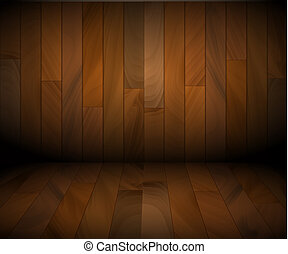 de madera, vector, plano de fondo