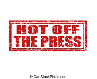 de, press-stamp, caliente