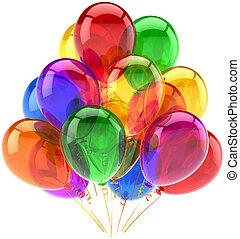 Decoración de cumpleaños de globos