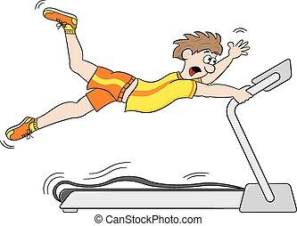 Demasiado rápido para hacer ejercicio