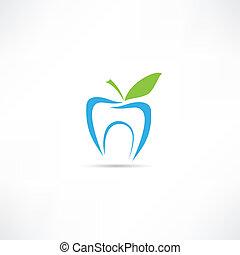 diente, icono