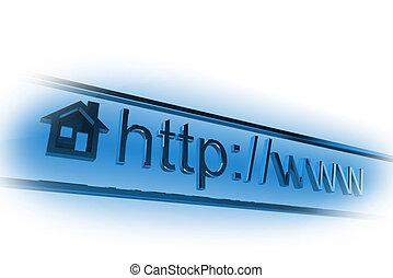 Dirección de páginas de Internet