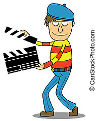 director, caricatura