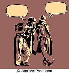 Discusión masculina