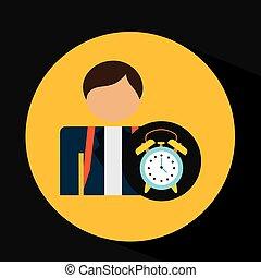 Diseño de relojes de escuela para estudiantes