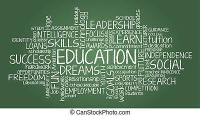 Educación relacionada con la nube del mundo