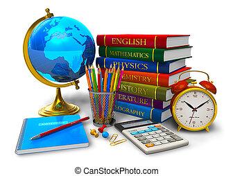 Educación y vuelta al concepto escolar