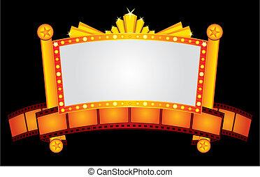 El cine dorado es neón