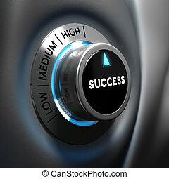 El concepto de éxito empresarial: motivación