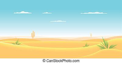 El desierto del oeste