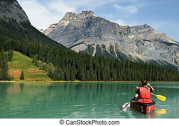 El lago Esmeralda