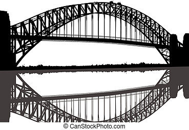 El puente del puerto de Sydney