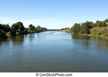 El río Hawkesbury