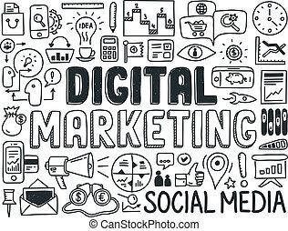 Elementos digitales de marketing establecidos