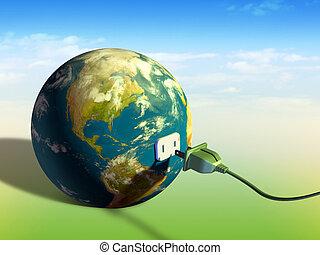 Energía terrestre