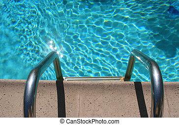 Entrada de piscina