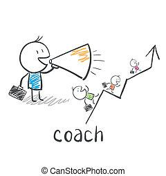 Entrenador de negocios, entrenador