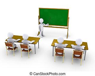 entrenamiento, escuela, empresa / negocio