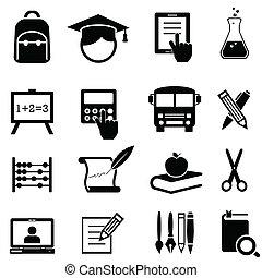 Escuela, aprendizaje y iconos educativos