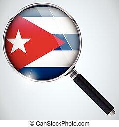 espía, estados unidos de américa, cuba, nsa, gobierno, programa, país