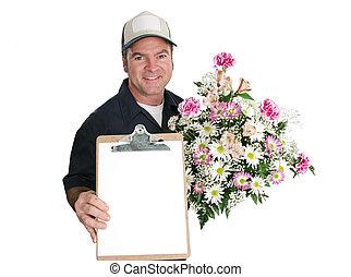 Firma por flores