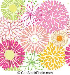 Flor colorida primaveral, sin manchas