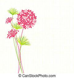 Fondo de flores primavera