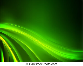 fondo., resumen, verde, eps, 8