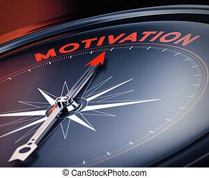 Foto motivacional, concepto de motivación positiva