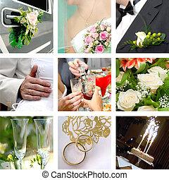 Fotos de color de boda