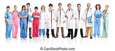 Gente médica