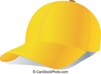 gorra de béisbol, vector