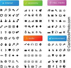 Gran colección de iconos