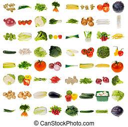 Gran colección de verduras