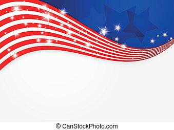 Historia de la bandera americana