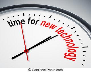 Hora de la nueva tecnología