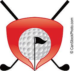 icono de golf