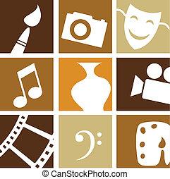 iconos creativos